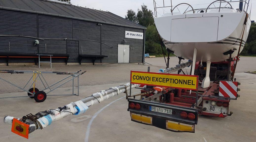 Départ du Xc35 du chantier X YACHTS au Danemark